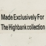 Stamp 14 - Highbank Collection