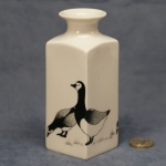 Medium Square Vase Geese
