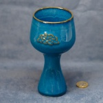Goblet Celtic Blue