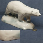 Polar Bear - Firoz - Glazed Finish
