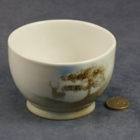 Round Bowl Stag