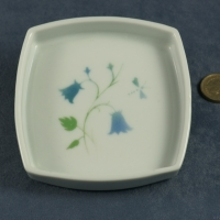 Square Pin Dish Harebell