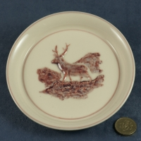 Round Plate Stag