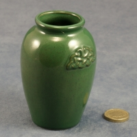 Round Vase Celtic Green