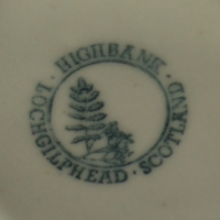Stamp 2 - Text Circle with Fern Logo