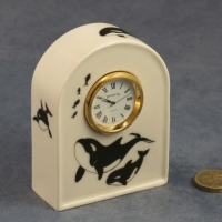Arched Clock - 9 x 7 x 3