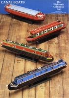 Model Boats Flyer - Canal Boats