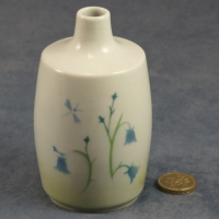 Medium Round Bud Vase Harebell