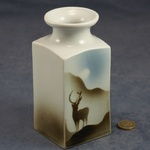 Large Square Vase Stag