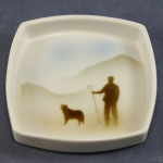 Square Pin Dish Shepherd