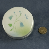 Round Lidded Dish Harebell