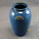 Large Blue Celtic Vase