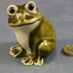 S037 - Green Frog - (With early label) - Glazed