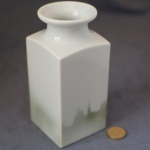 Large Square Vase Church Spire