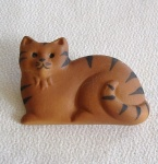 Ginger Cat Brooch