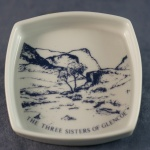 Square Pin Dish The Three Sisters of Glencoe