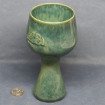 Goblet Celtic Green