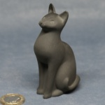 S002 - Cat - Black Sitting