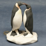 L025 - Courting King Penguins