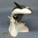 L022 - Large Breaching Killer Whale