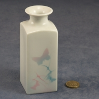 Medium Square Vase Butterflies