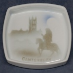 Square Pin Dish Canterbury