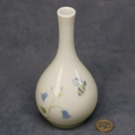 Round Bud Vase Harebell and Bee
