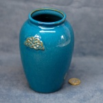 Medium Blue Celtic Vase