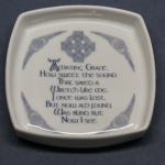 Square Pin Dish Amazing Grace