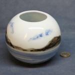 Round Vase Seascape