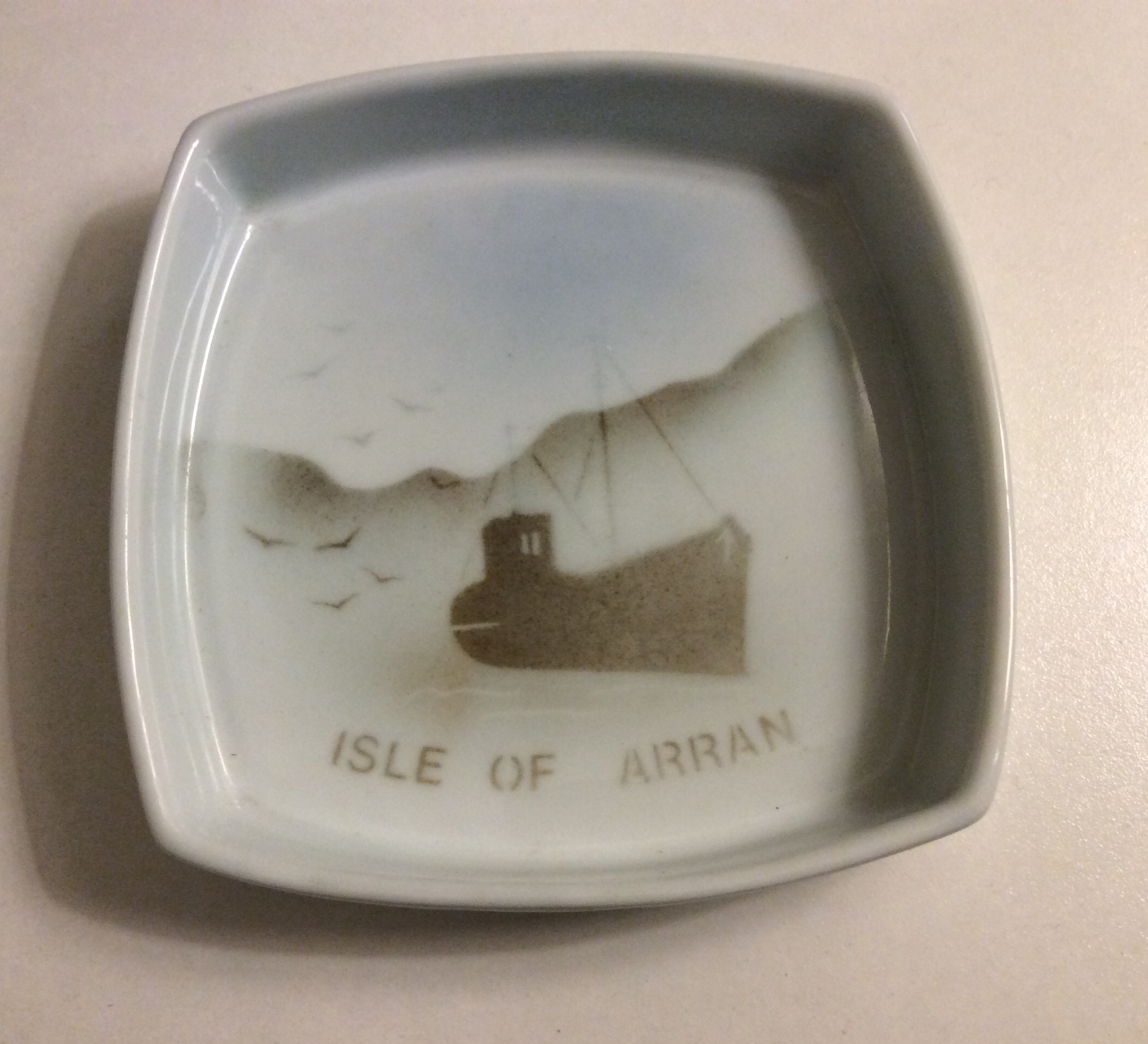 Square Pin Dish Isle of Arran