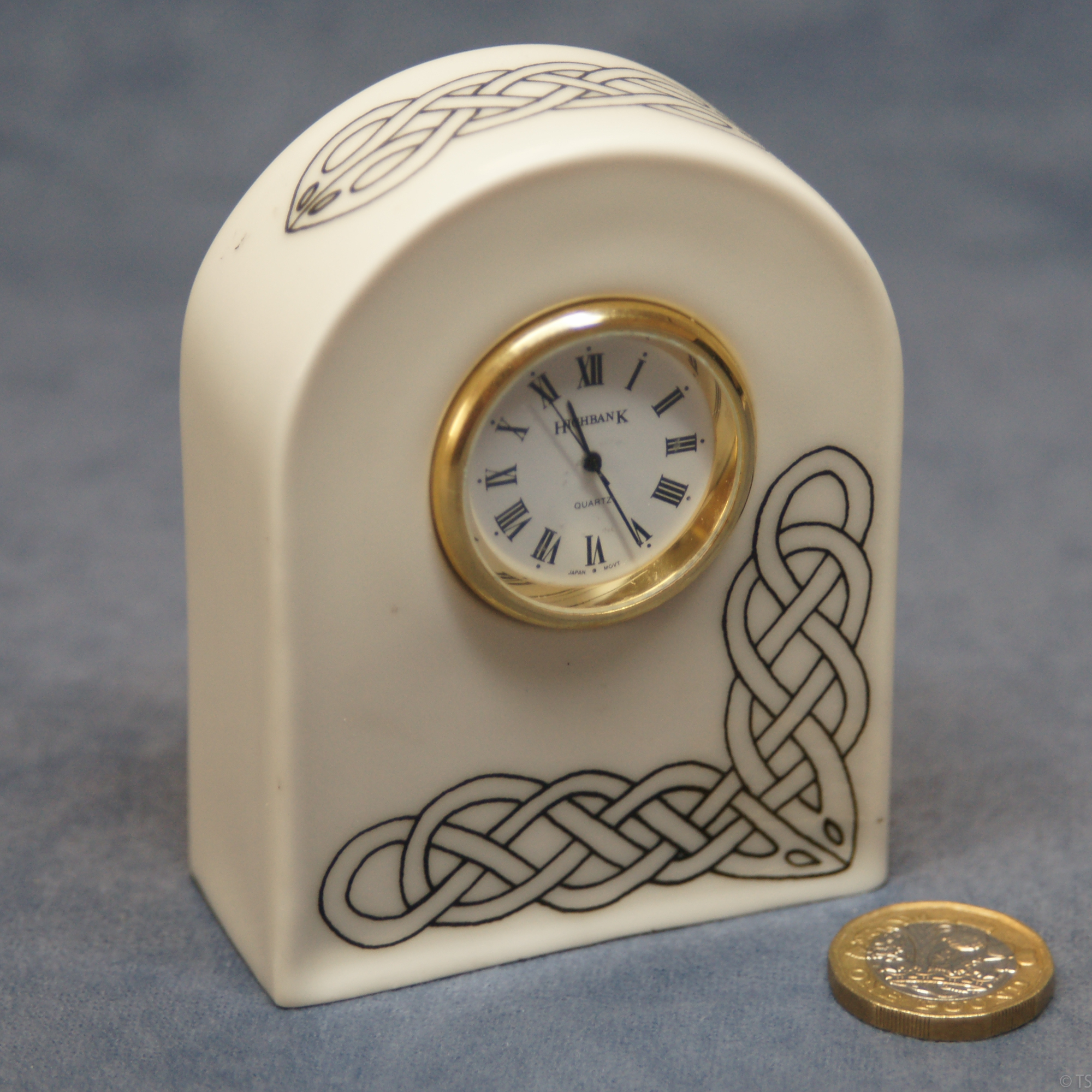 Arched Clock Celtic Design