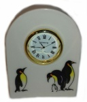 Arched Clock Penguins