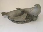 3 Grey Seals