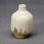 Small Round Bud Vase Church Spire