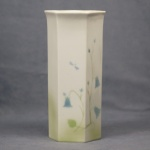 Large Hexagonal Vase Harebell