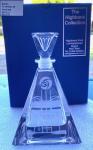 Triangular Perfume Bottle Celtic