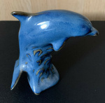 Small Leaping Dolphin - Blue - S075