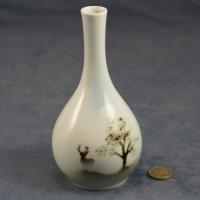 Round Bud Vase Stag