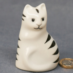 S031 - Black and White Cat Sitting