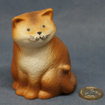 S065 - Fluffy Ginger Cat Sitting