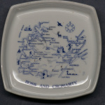 Square Pin Dish Ross and Cromarty