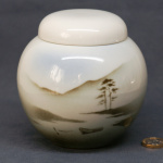 Round Ginger Jar Boat and Lake