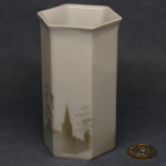 Small Hexagonal Vase Church Spire