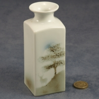 Medium Square Vase Stag