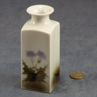 Medium Square Vase Thistle