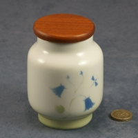 Small Storage Jar Harebell