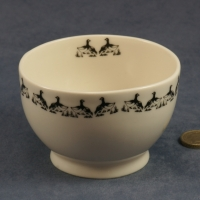 Round Bowl Geese