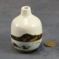 Small Bud Vase Seascape