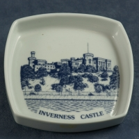 Square Pin Dish Inverness Castle
